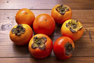 富有柿の写真素材 [FYI04771567]