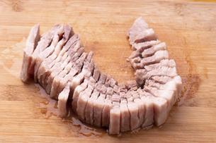 ゆで豚の写真素材 [FYI04771603]
