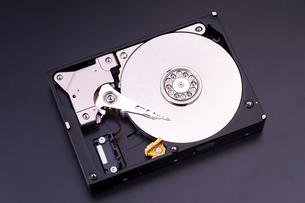 ハードディスクドライブの写真素材 [FYI04771614]
