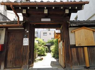 6月 本光寺  -京都における新選組関連の史跡-の写真素材 [FYI04771670]