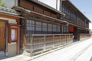 6月 角屋(すみや)-京都新選組関連の史跡-の写真素材 [FYI04771685]