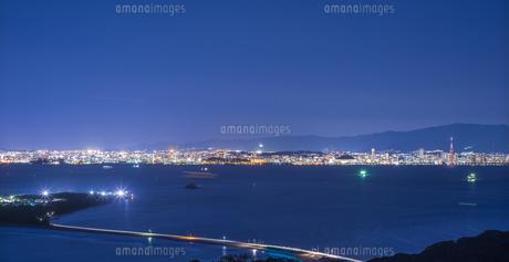 福岡県 風景 博多湾夕景 の写真素材 [FYI04771848]