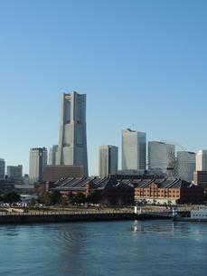 横浜みなとみらいの風景の写真素材 [FYI04771872]