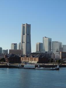 横浜みなとみらいの風景の写真素材 [FYI04771876]