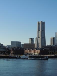 横浜みなとみらいの風景の写真素材 [FYI04771883]