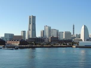 横浜みなとみらいの風景の写真素材 [FYI04771889]