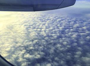 上空からの雲海の写真素材 [FYI04772162]