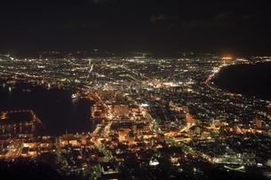 函館市街夜景の写真素材 [FYI04772491]