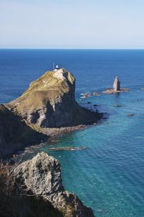 神威岬と神威岩の秋の写真素材 [FYI04772711]