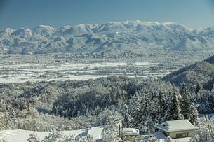 冬景色の写真素材 [FYI04772852]