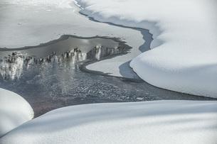 雪の造形の写真素材 [FYI04772857]