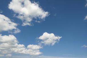 青空と雲の写真素材 [FYI04772956]