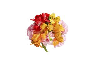 様々な花のブーケの写真素材 [FYI04773238]