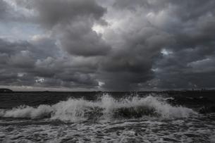 嵐の百道浜の写真素材 [FYI04773542]