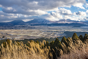 熊本県 阿蘇五岳の写真素材 [FYI04773577]
