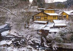 熊本県 黒川温泉の写真素材 [FYI04773607]