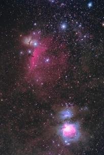 オリオン座中心部の写真素材 [FYI04773736]
