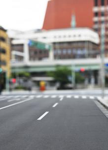 日本橋の中央通りの写真素材 [FYI04774017]