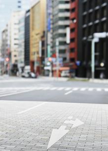 日本橋の中央通りの写真素材 [FYI04774019]