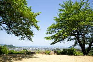甘樫丘より見る大和三山の写真素材 [FYI04774068]