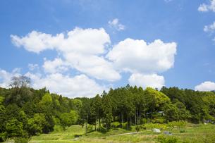 明日香村の田園風景の写真素材 [FYI04774070]