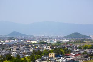 三輪山から見る大和三山の写真素材 [FYI04774163]