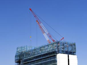 高層ビルの建設現場の写真素材 [FYI04774582]