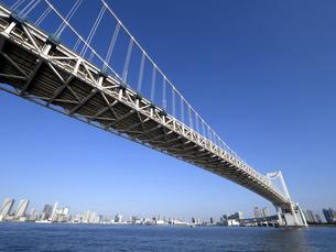東京都 レインボーブリッジの写真素材 [FYI04774636]
