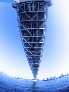 東京都 レインボーブリッジの写真素材 [FYI04774638]