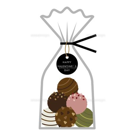 ラッピング チョコレート イラストのイラスト素材 [FYI04774835]