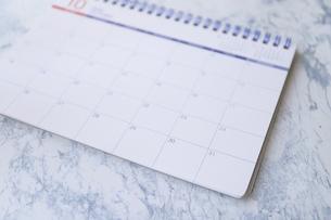 マンスリーカレンダーの写真素材 [FYI04774944]