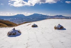 熊本県 阿蘇五岳の写真素材 [FYI04775409]