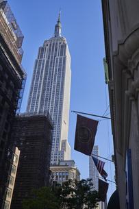 ニューヨーク マンハッタンの街並みの写真素材 [FYI04775467]