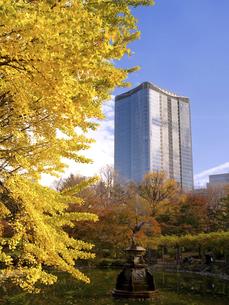 東京都 日比谷公園と東京ミッドタウン日比谷の写真素材 [FYI04776228]
