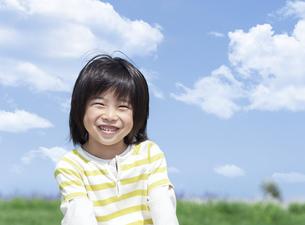 笑顔の男の子の写真素材 [FYI04776568]
