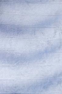 青色のソフトな布の写真素材 [FYI04776774]
