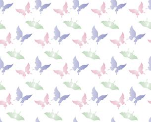 胡蝶 アゲハチョウ デザイン 継ぎ目のないシームレスパターン 背景素材 イラストのイラスト素材 [FYI04776825]