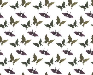 胡蝶 アゲハチョウ デザイン 継ぎ目のないシームレスパターン 背景素材 イラストのイラスト素材 [FYI04776826]