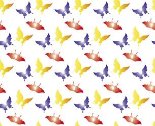 胡蝶 アゲハチョウ デザイン 継ぎ目のないシームレスパターン 背景素材 イラストのイラスト素材 [FYI04776827]