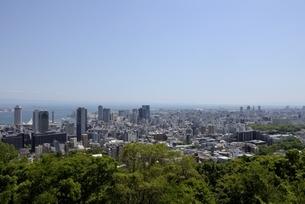 神戸,ビーナスブリッジから神戸の街並みの写真素材 [FYI04777277]