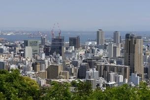 神戸,ビーナスブリッジから神戸の街並みの写真素材 [FYI04777284]