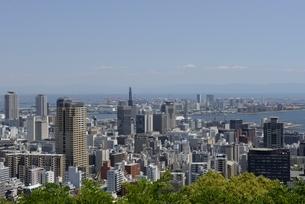 神戸,ビーナスブリッジから神戸の街並みの写真素材 [FYI04777288]