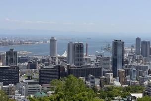神戸,ビーナスブリッジから神戸の街並みの写真素材 [FYI04777293]