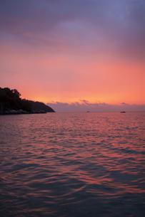 リペ島リゾートの夕景の写真素材 [FYI04777418]