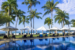 ランカウイ島のリゾートホテルの写真素材 [FYI04777436]
