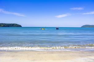 ランカウイ島の美しい海の写真素材 [FYI04777439]