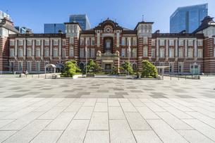 東京駅の写真素材 [FYI04777722]