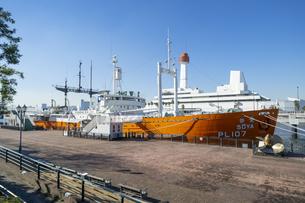 南極観測船の宗谷の写真素材 [FYI04777833]