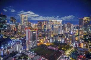 東京タワーから見える東京夜景の写真素材 [FYI04777963]