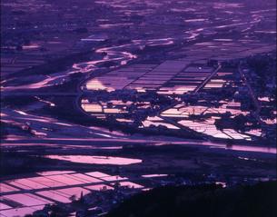 長野県安曇野市明科 長峰山展望台の写真素材 [FYI04778049]